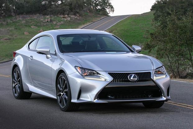 2018 Lexus RC: New Car Review featured image large thumb0