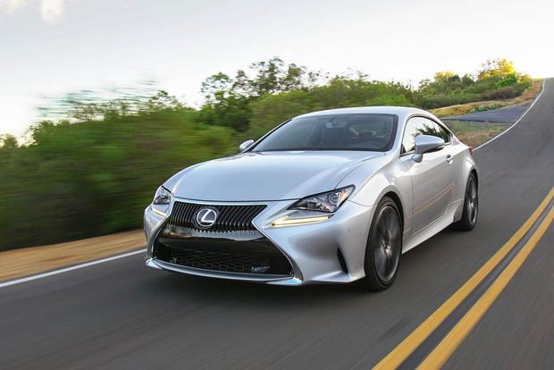 2018 Lexus RC: New Car Review featured image large thumb1