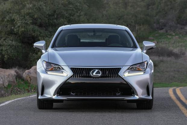 2018 Lexus RC: New Car Review featured image large thumb2