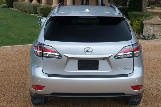 2013 Lexus RX: New Car Review featured image large thumb2