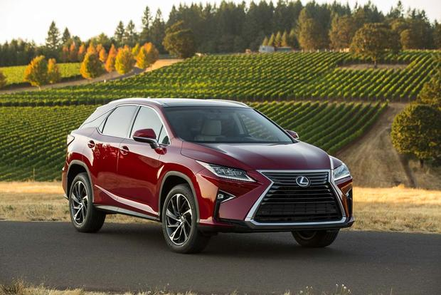2016 Lexus RX: New Car Review featured image large thumb1