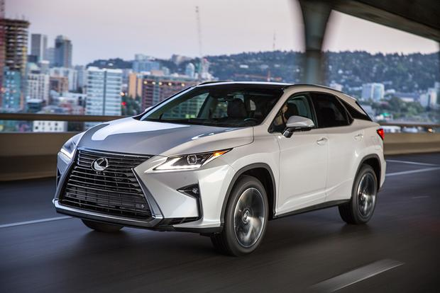 2017 Lexus RX: New Car Review featured image large thumb0