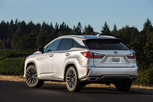 2017 Lexus RX: New Car Review featured image large thumb3