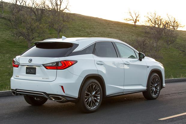 2018 Lexus RX: New Car Review featured image large thumb3