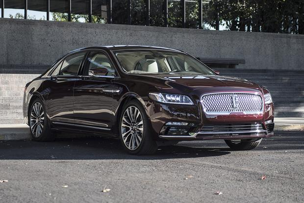2017 Lincoln Continental New Car Review Autotrader