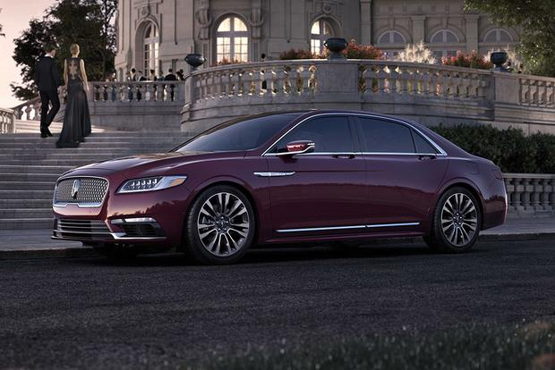 2018 Lincoln Continental: New Car Review featured image large thumb2