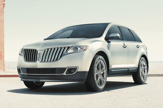 2014 lincoln mkx used car review autotrader. Black Bedroom Furniture Sets. Home Design Ideas
