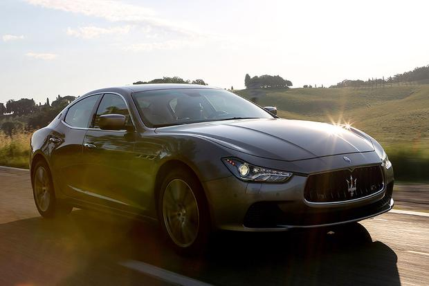 2015 BMW 5 Series vs. 2015 Maserati Ghibli: Which Is Better ...
