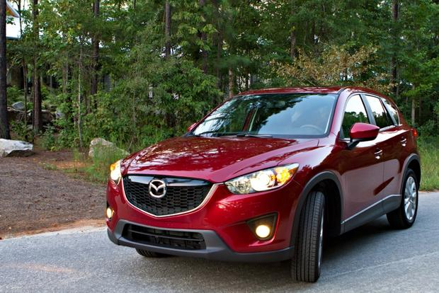 2013 Mazda CX-5: Toddler in Tow