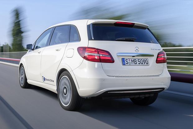 2014 Mercedes Benz B Class Electric Drive New Car Review Autotrader