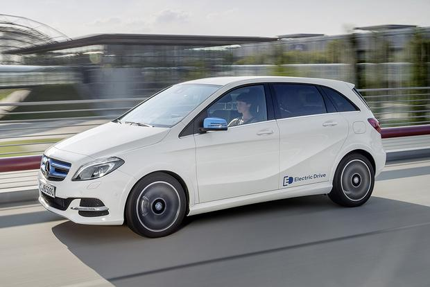 2015 Mercedes Benz B Class Electric Drive New Car Review Autotrader