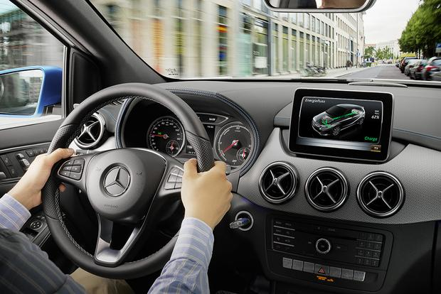 2016 Mercedes-Benz B-Class: New Car Review featured image large thumb5