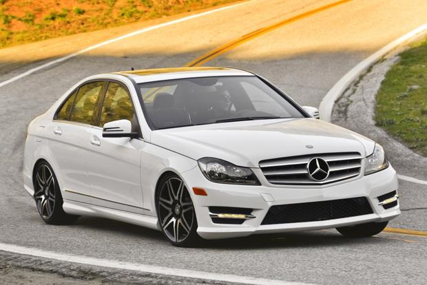 2014 mercedes benz c class new car review autotrader for Average insurance cost for mercedes benz c300