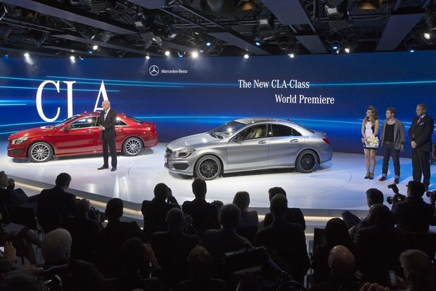 2014 Mercedes CLA-Class, Updated E-Class: Detroit Auto Show featured image large thumb4