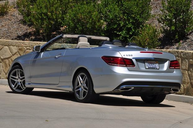 2014 Mercedes Benz E Class Cabriolet Real World Review