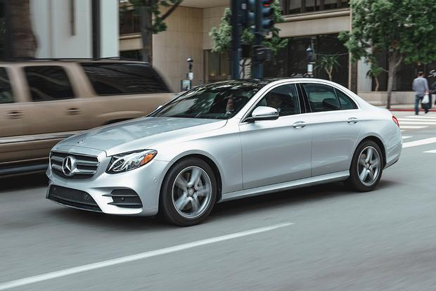 2018 Mercedes-Benz E-Class: New Car Review featured image large thumb2