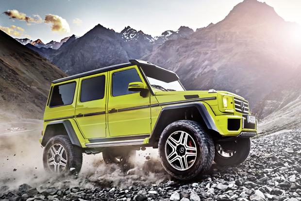 2017 Mercedes-Benz G-Class: New Car Review featured image large thumb1
