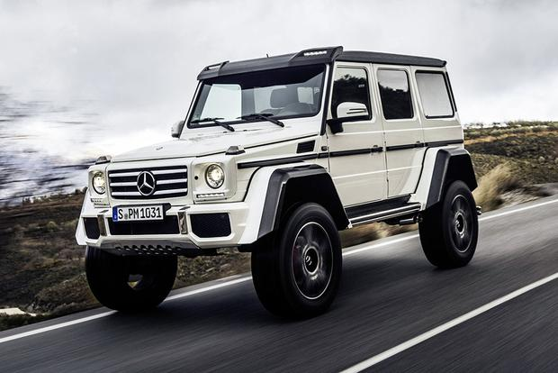2017 Mercedes-Benz G-Class: New Car Review featured image large thumb3