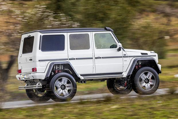 2017 Mercedes-Benz G-Class: New Car Review featured image large thumb4