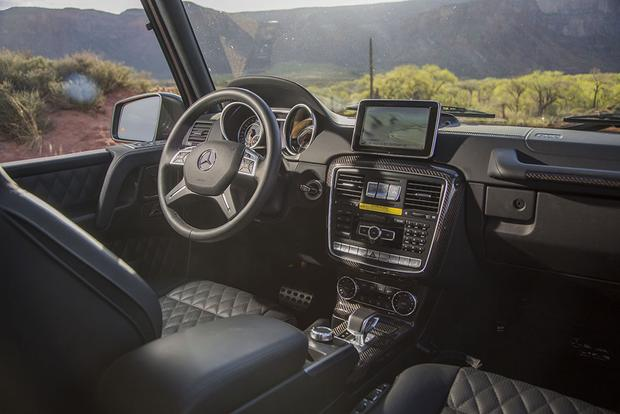 2017 Mercedes-Benz G-Class: New Car Review featured image large thumb5