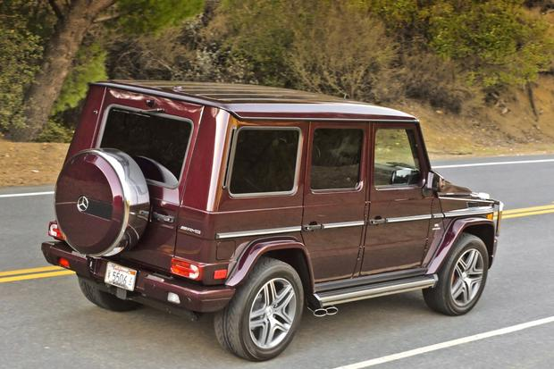 2014 Mercedes-Benz G-Class: New Car Review featured image large thumb11