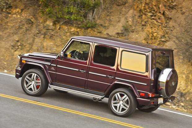 2014 Mercedes-Benz G-Class: New Car Review featured image large thumb12