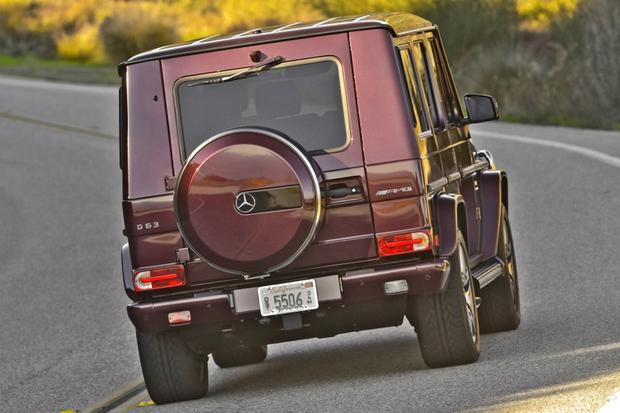 2014 Mercedes-Benz G-Class: New Car Review featured image large thumb13