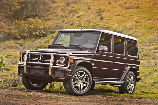 2014 Mercedes-Benz G-Class: New Car Review featured image large thumb14
