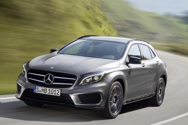 2015 Mercedes-Benz GLA-Class Compact Crossover Set for Frankfurt Debut featured image large thumb5