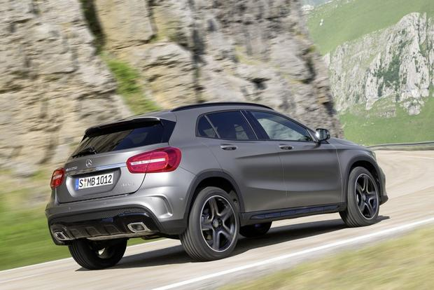 2015 Mercedes-Benz GLA-Class Compact Crossover Set for Frankfurt Debut featured image large thumb6