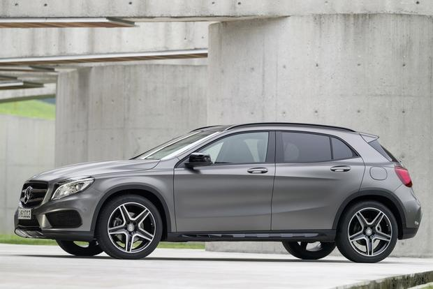 2015 Mercedes-Benz GLA-Class Compact Crossover Set for Frankfurt Debut featured image large thumb7