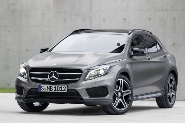 2015 Mercedes-Benz GLA-Class Compact Crossover Set for Frankfurt Debut featured image large thumb8