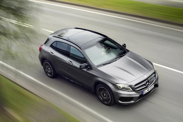 2015 Mercedes-Benz GLA-Class Compact Crossover Set for Frankfurt Debut featured image large thumb4