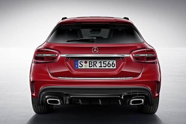 2015 Mercedes-Benz GLA-Class Compact Crossover Set for Frankfurt Debut featured image large thumb25
