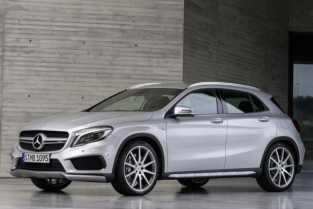 2015 Mercedes-Benz GLA-Class Compact Crossover Set for Frankfurt Debut featured image large thumb31