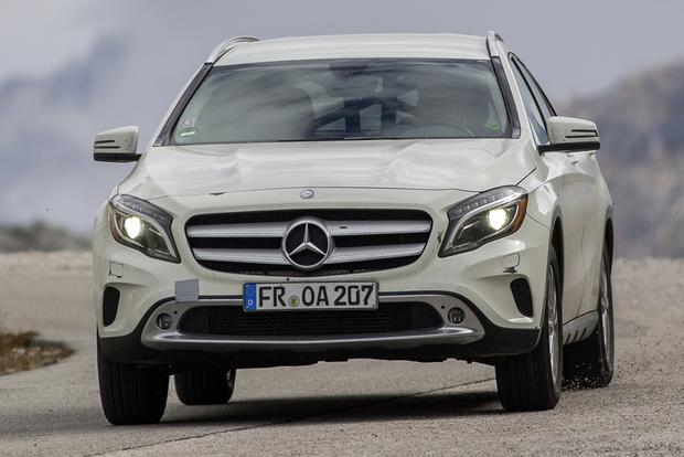 2015 Mercedes-Benz GLA-Class Compact Crossover Set for Frankfurt Debut featured image large thumb23