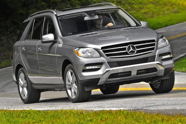2012 Mercedes-Benz M-Class: New Car Review featured image large thumb5