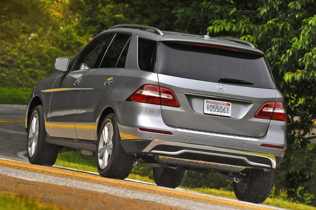 2012 Mercedes-Benz M-Class: New Car Review featured image large thumb6