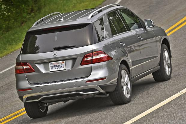 2012 Mercedes-Benz M-Class: New Car Review featured image large thumb10