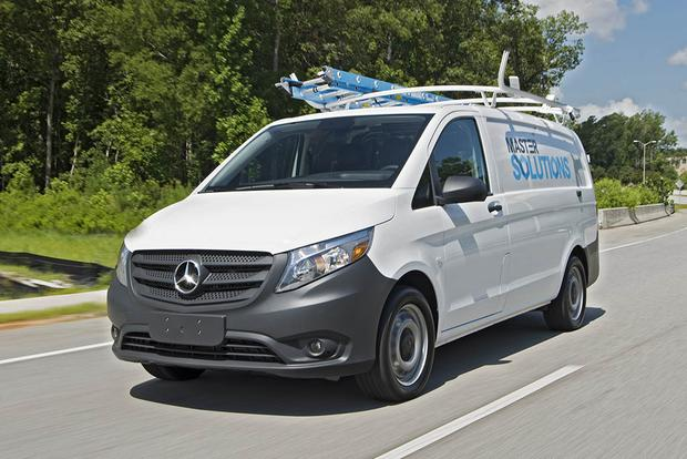 2017 Mercedes-Benz Sprinter and Metris: First Drive Review featured image large thumb0