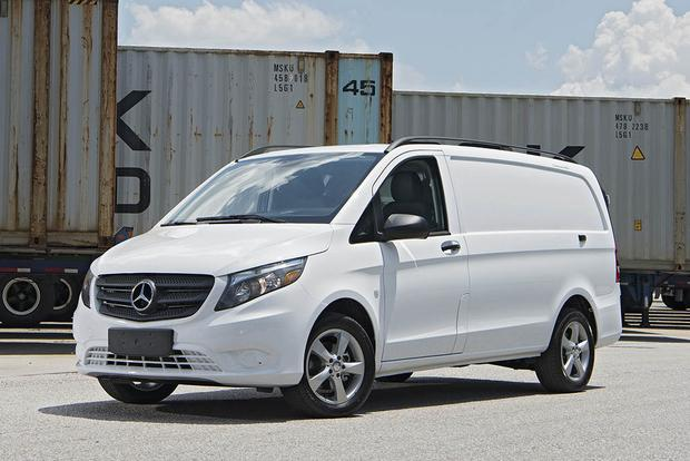2017 mercedes benz sprinter and metris first drive review for Mercedes benz work vans