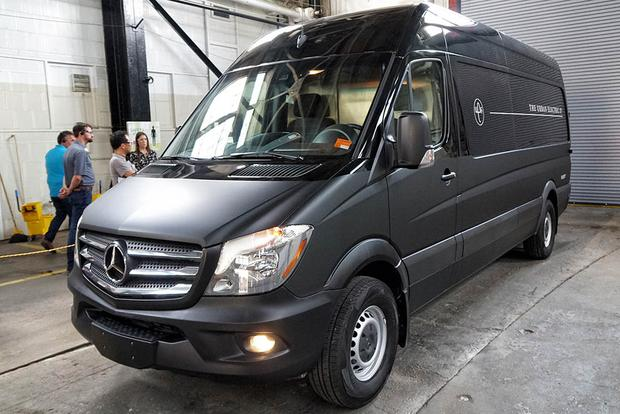 2017 Mercedes-Benz Sprinter and Metris: First Drive Review featured image large thumb10