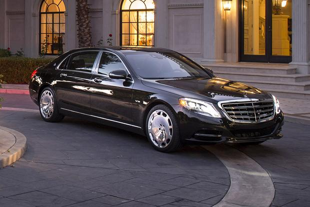2016 Mercedes-Maybach S600: Overview