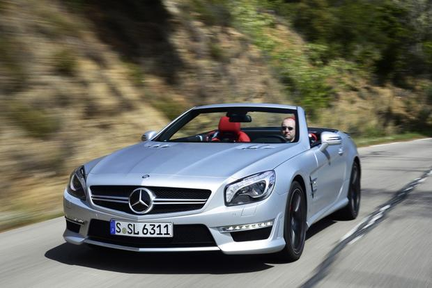 Mercedes benz sl class to gain entry level sl400 model for Autotrader mercedes benz