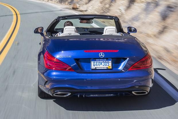 2018 Mercedes-Benz SL-Class: New Car Review featured image large thumb5