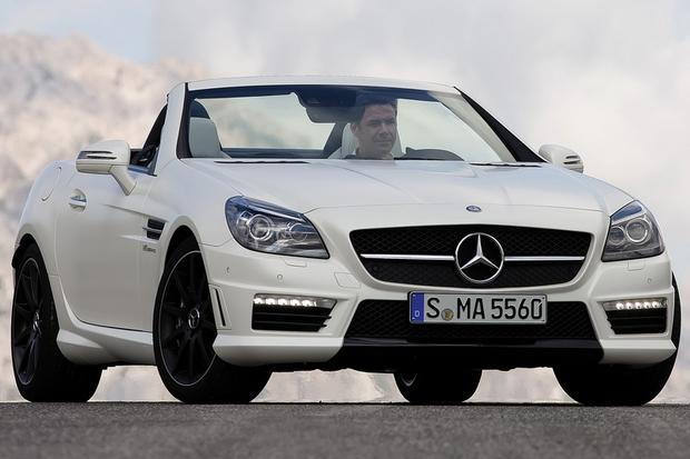2014 mercedes benz slk class new car review autotrader for What country makes mercedes benz cars