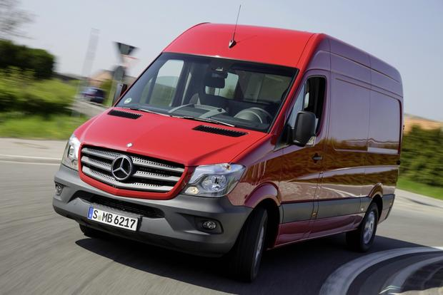 2014 Mercedes-Benz Sprinter: First Drive featured image large thumb2