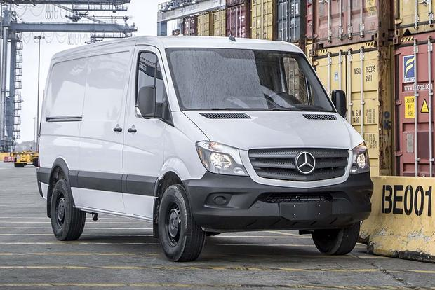 2017 Mercedes-Benz Sprinter: New Car Review featured image large thumb1
