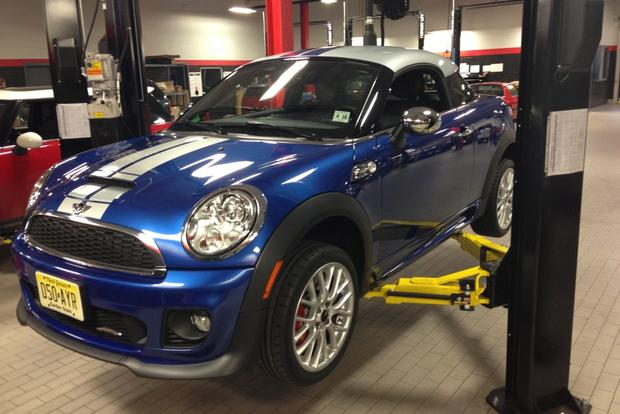 2012 MINI JCW Coupe: Hungry for Tires featured image large thumb0