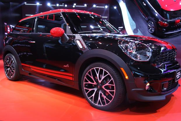 2013 Mini JCW Paceman: Detroit Auto Show featured image large thumb1